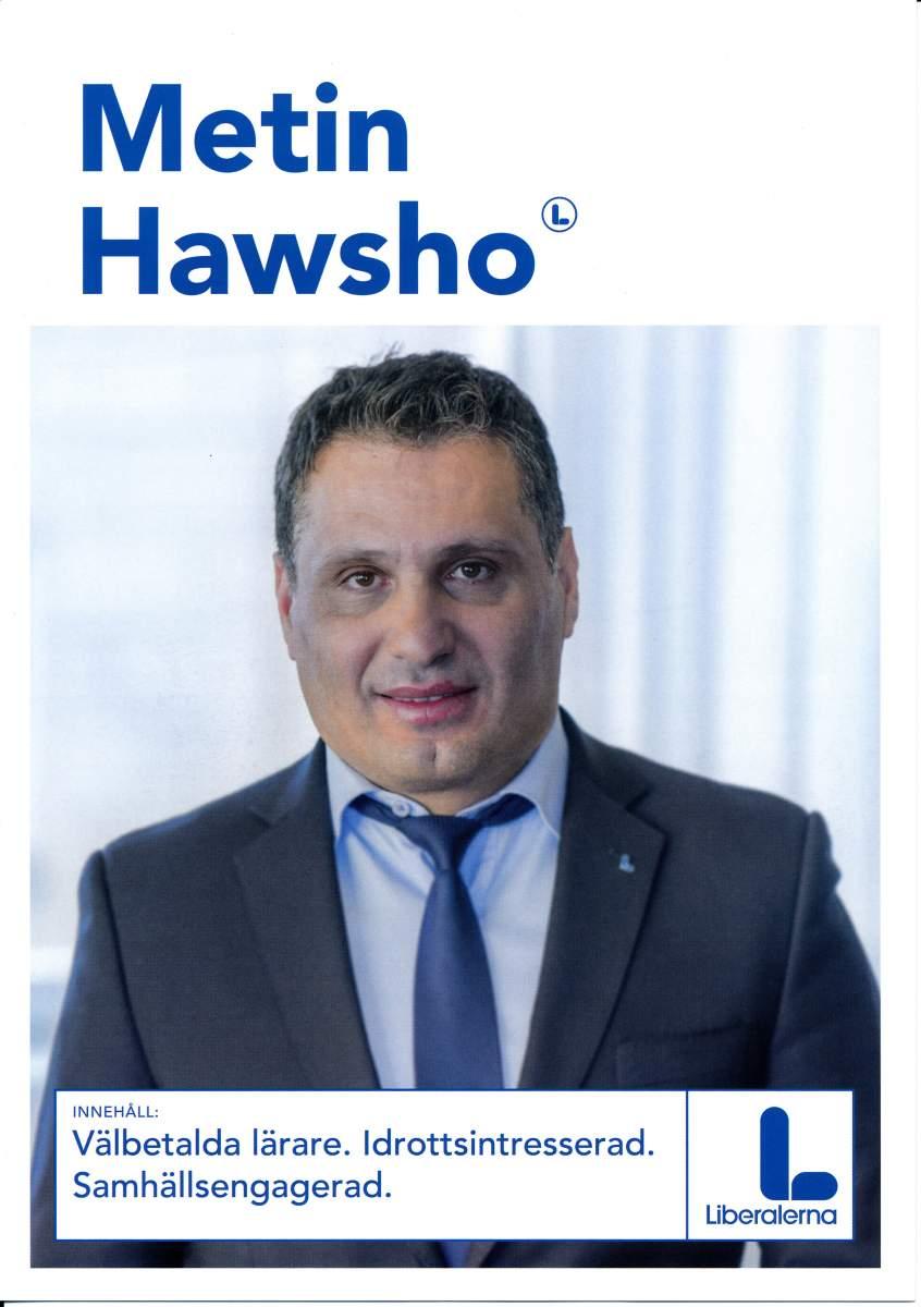 Metin Hawsho valpresentation sid 1